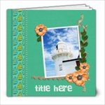 8x8 (20 pages): Hot Summer Days - 8x8 Photo Book (20 pages)