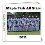Majors Allstars - 8x8 Photo Book (20 pages)