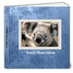 family book 1 - 8x8 Deluxe Photo Book (20 pages)