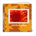 fall theme - 6x6 Photo Book (20 pages)