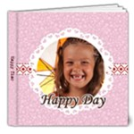 Happy day - 8x8 Deluxe Photo Book (20 pages)