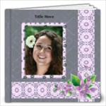 Delightful shades of Violet 12x12 (80 page) Book - 12x12 Photo Book (80 pages)