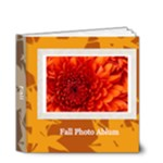 fall theme - 4x4 Deluxe Photo Book (20 pages)