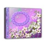 Spring Purple flower2 8x10 stretched canvas - Canvas 10  x 8  (Stretched)