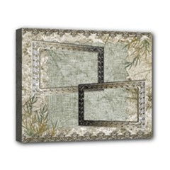 Neutral shadow frame 8x10 stretched canvas - Canvas 10  x 8  (Stretched)