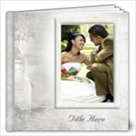 Our Wedding 12x12 Book (80 Pages)White - 12x12 Photo Book (80 pages)