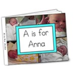A is for Anna - 7x5 Deluxe Photo Book (20 pages)