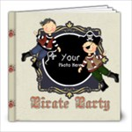 Pirate Party - 8x8 Photo Book (20 pages)