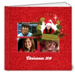 Christmas/holiday- 8x8 Deluxe photo book - 8x8 Deluxe Photo Book (20 pages)