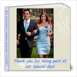 Shanna and Lelands book - 8x8 Photo Book (20 pages)