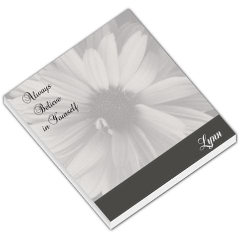 Flowernotepad By Patricia W   Small Memo Pads   F44jxa0wcdkz   Www Artscow Com