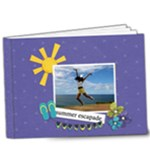 9x7 DELUXE: Summer Escapade - 9x7 Deluxe Photo Book (20 pages)