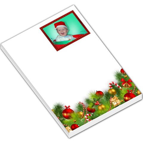 Happy Christmas Large Memo By Deborah   Large Memo Pads   02oivkypx2qb   Www Artscow Com