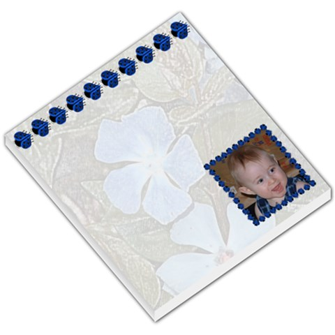 Blue Ladybug Small Memo Pad By Chere s Creations   Small Memo Pads   2p9zogklltwi   Www Artscow Com