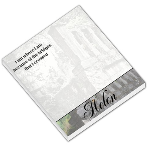 Bridge Notepad By Patricia W   Small Memo Pads   Fqvk2qwrx7tf   Www Artscow Com