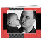 Polka Dots-any theme, 9x7 Photo Book - 9x7 Photo Book (20 pages)