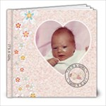 It s A Girl 8x8 39 PagePhoto book  - 8x8 Photo Book (39 pages)