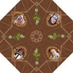 Brown Design Folding Umbrella