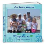 Cape May 2011 - 8x8 Photo Book (39 pages)