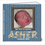 8x8_Asher Book 1_39pages completed - 8x8 Photo Book (39 pages)