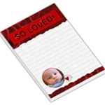 So Loved Large Memo Pad - Large Memo Pads