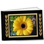 Black and Gold Deluxe 9x7 book (20 Pages) - 9x7 Deluxe Photo Book (20 pages)
