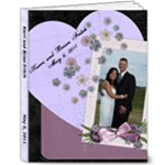Karri and Brian Wedding Album - 8x10 Deluxe Photo Book (20 pages)