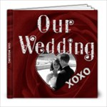 Our Wedding 8x8 60 Page Photo Book - 8x8 Photo Book (60 pages)