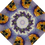 pansies umbrella - Folding Umbrella