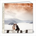 Italy wedding - 8x8 Photo Book (60 pages)