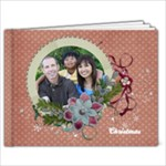 9x7 Christmas/Shabby Photo Book - 9x7 Photo Book (20 pages)