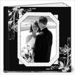 Black & White Any Occasion 12x12 60 Page Photo Book - 12x12 Photo Book (60 pages)