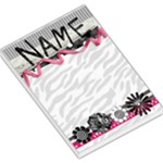 Memo Pad - zebra print - Large Memo Pads