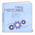 Serenity Blue 8x8 Photo Book - 8x8 Photo Book (20 pages)