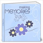 Serenity Blue 12x12 Photo Book - 12x12 Photo Book (20 pages)
