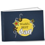 9x7 (20 pages): World s Best Dad - 9x7 Deluxe Photo Book (20 pages)