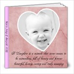 nora 1 year - 8x8 Photo Book (20 pages)