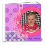 Paige s Baby Book - 8x8 Photo Book (20 pages)