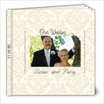 Davis Wedding - 8x8 Photo Book (60 pages)