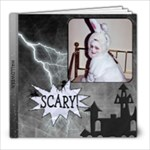 Scary Halloween 8x8 20 Page Photo Book - 8x8 Photo Book (20 pages)