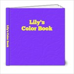 my color book - 6x6 Photo Book (20 pages)