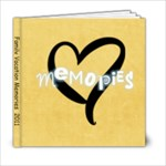 6x6 Basic Yellow - 6x6 Photo Book (20 pages)