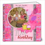 Emily 10th Birthday - 8x8 Photo Book (20 pages)