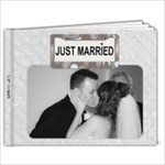 Just Married 11x8.5 Photo Book - 11 x 8.5 Photo Book(20 pages)