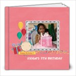 8x8 (39 pages): Happy Birthday - Girl - 8x8 Photo Book (39 pages)