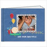 9x7 (20 pages): Happy Birthday - Boy - 9x7 Photo Book (20 pages)