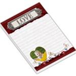 Love Red Large Memo Pad - Large Memo Pads