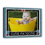 Cutie Patootie 16x12 Stretched Canvas - Canvas 16  x 12  (Stretched)