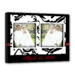 Wedding Date 16X12 - Canvas 16  x 12  (Stretched)