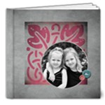 Summer 8X8 Deluxe TEMPLATE - 8x8 Deluxe Photo Book (20 pages)